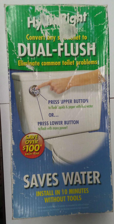 Hydroright Flush Converter