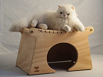 Pagoda tamaños XXL - casa para gatos, rascador, made in Italy 100%: Amazon.es: Hogar