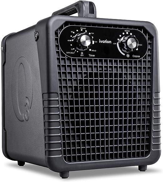 Purificador de aire Ivation Ozone Generator, potente desodorizante ...