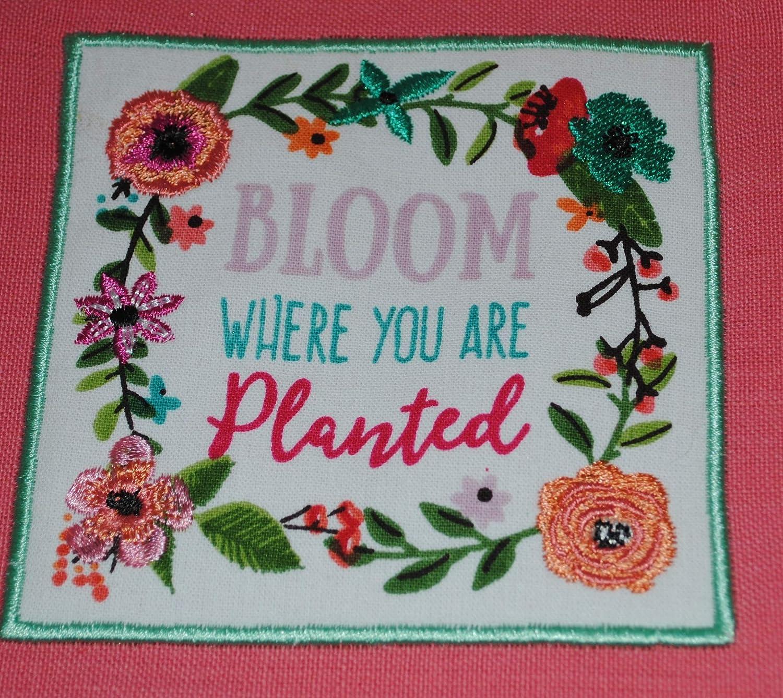 Design Imports - Juego de toallas de cocina bordadas para el día de la madre, 3 toallas de cocina con decoración de flores de primavera, con 3 toallas de ...
