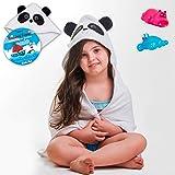 Jaffaport Hooded Towel Babies Toddlers UniHoodie Ages 1 To 5 Years