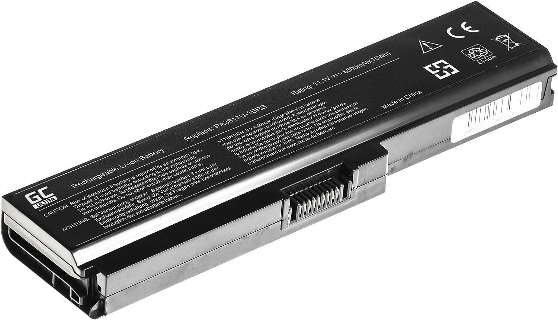 4400mAh 10.8V Black Green Cell/® Standard Series Battery for Toshiba Satellite P750-12V P750-12W P750-133 P750-135 P750-136 P750-137 P750-13D P750-13F P750-13G P750-13J Laptop