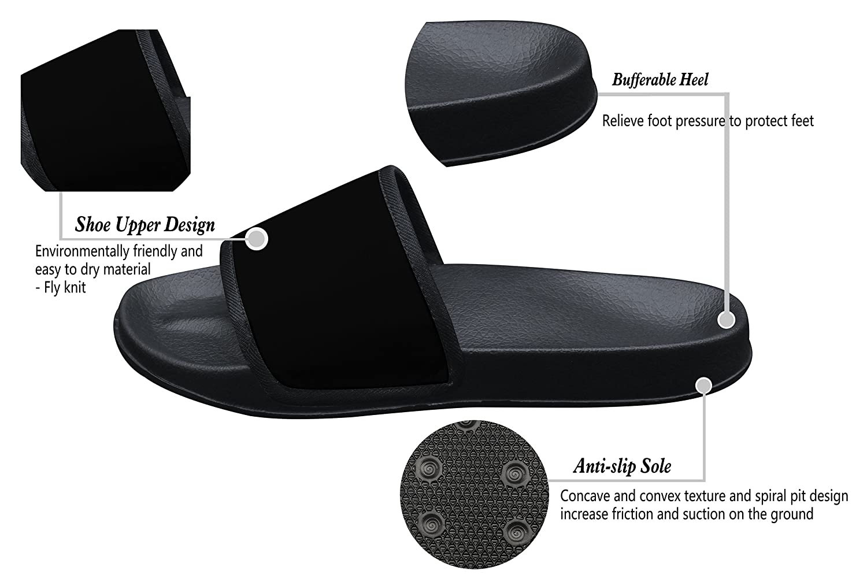 Ta-Ta Frog Unisex Slippers 3D Printed Godzilla Movie Anti-Slip Indoor /& Outdoor Sandals for Kids