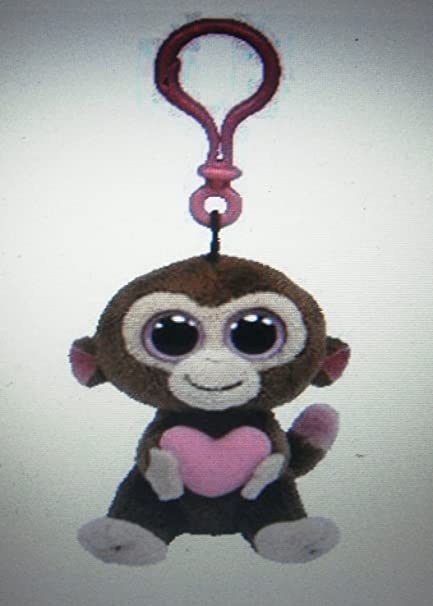 Amazon.com   Ty s Rare and Retired CASANOVA the MONKEY w Heart Beanie Boo  CLIP w Purple Heart Tag-NEW   Everything Else 5d7911e2597