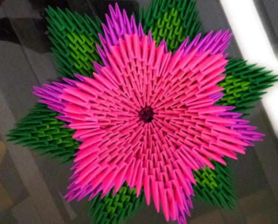 How to Make a Simple Origami Lotus Flower: 14 Steps   460x569