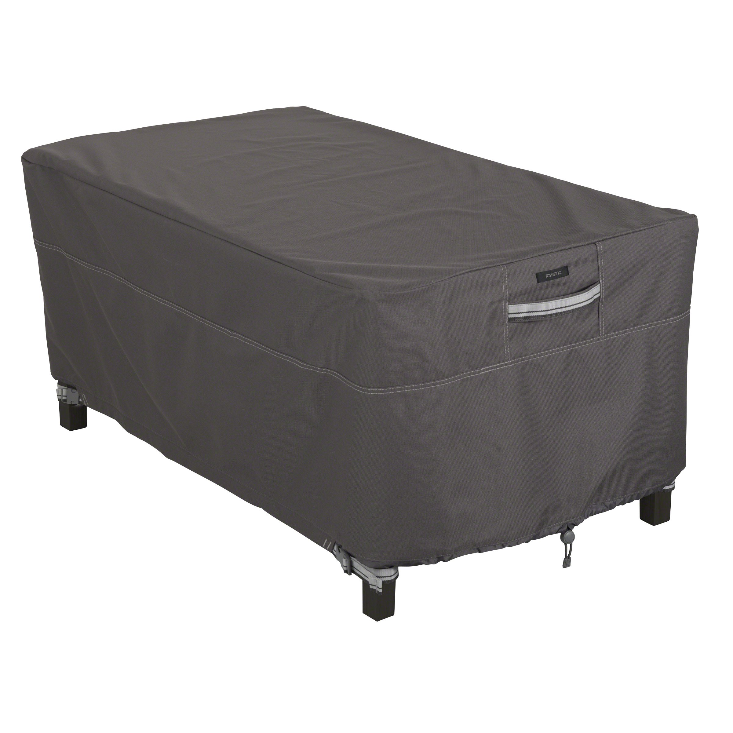 Classic Accessories Ravenna Cover For Rectangular Coffee Tables, Taupe by Classic Accessories