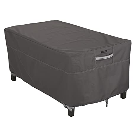 amazon patio furniture covers. Classic Accessories Ravenna Rectangular Patio Coffee Table Cover - Premium Outdoor Furniture With Durable And Amazon Covers R