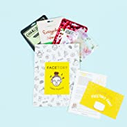 FaceTory - Handpicked Korean Sheet Masks Subscription Box: 4-Ever Fresh