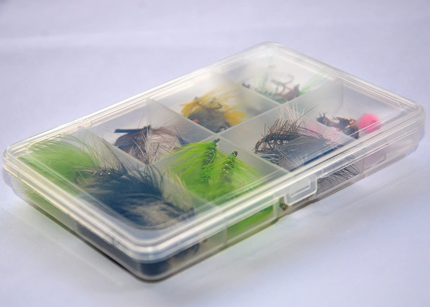 Outdoor Planet 36Pieces Dry Fly, Wet Fly and Nymph Fly Lure Assotment for Trout Fly Fishing Flies