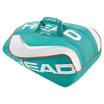 Head Tour Team - Paletero, Color Blanco/Turquesa, Talla única: Amazon.es: Zapatos y complementos