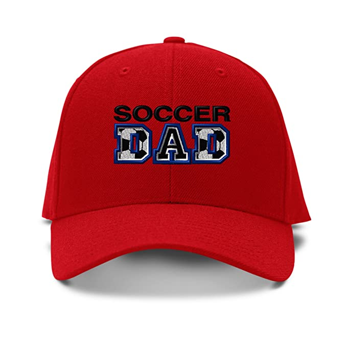Soccer Dad  Embroidery Embroidered Adjustable Hat Baseball Cap