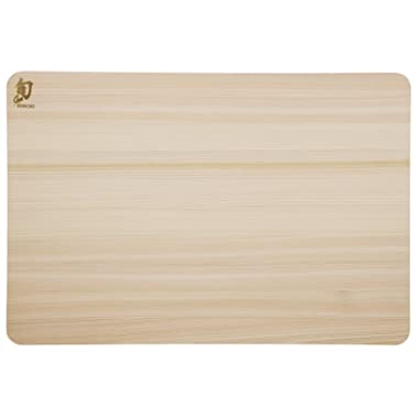 Shun DM0814 Hinoki Cutting Board, Small