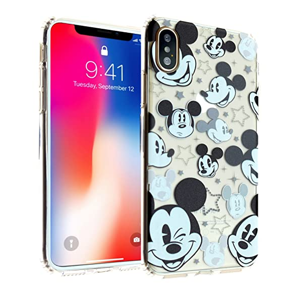 competitive price 218c1 ffee8 iPhone X Case, Mickey Mouse iPhone X Case DURARMOR FlexArmor TPU Bumper  Case Ultra Slim ScratchSafe Shock Absorption Cover for iPhone X Mickey  Mouse ...