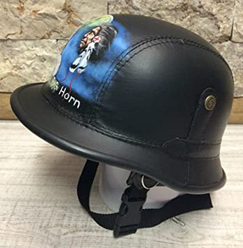 Chopper Casco Biker Talla M 57 – 58 cm pintadas a mano original Little Big Horn