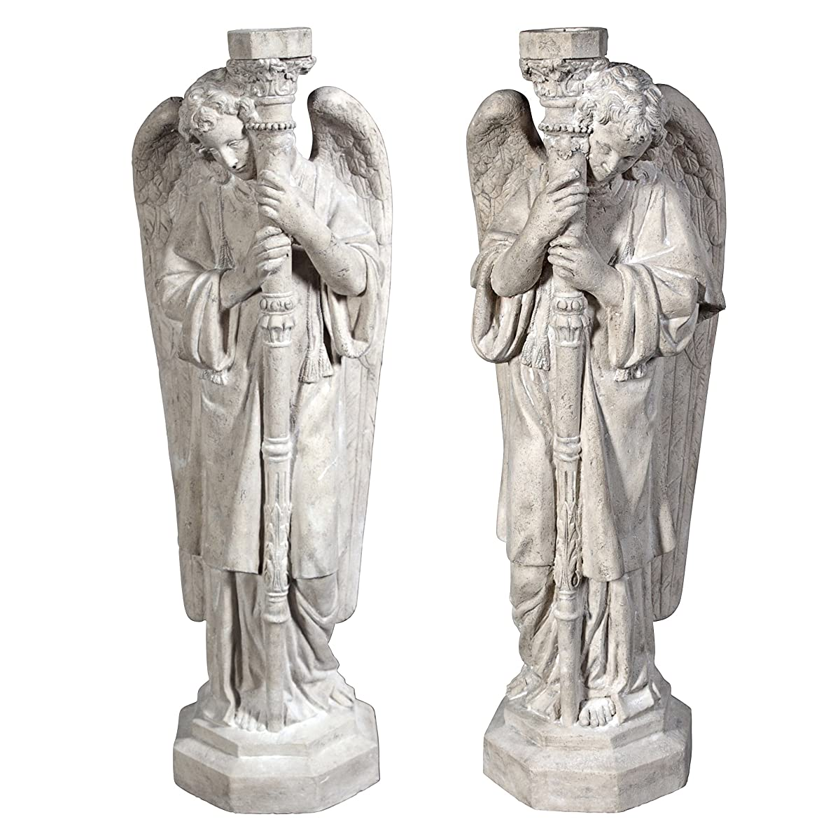 Design Toscano Set of Padova Guardian Angel Statues