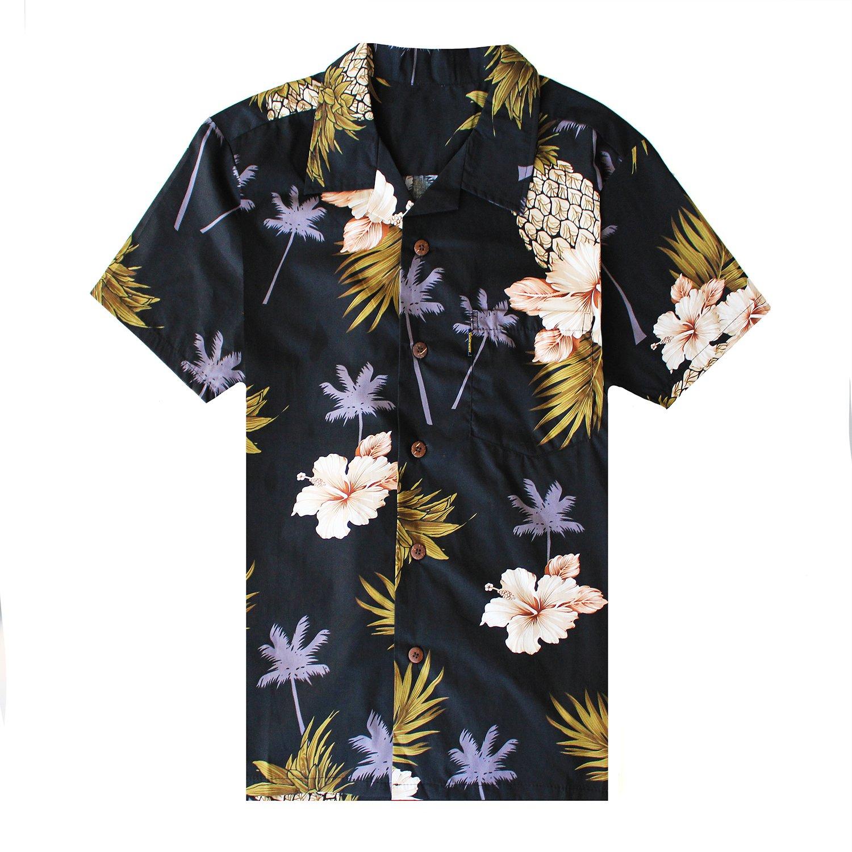 34edc7101ff5c0 Amazon.com: Men's Hawaiian Shirt Aloha Shirt: Clothing