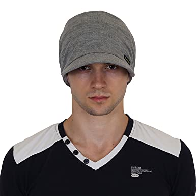 7af9b1d32 NEON ROCK Men's Cotton Beanies Cap (Dark Grey)