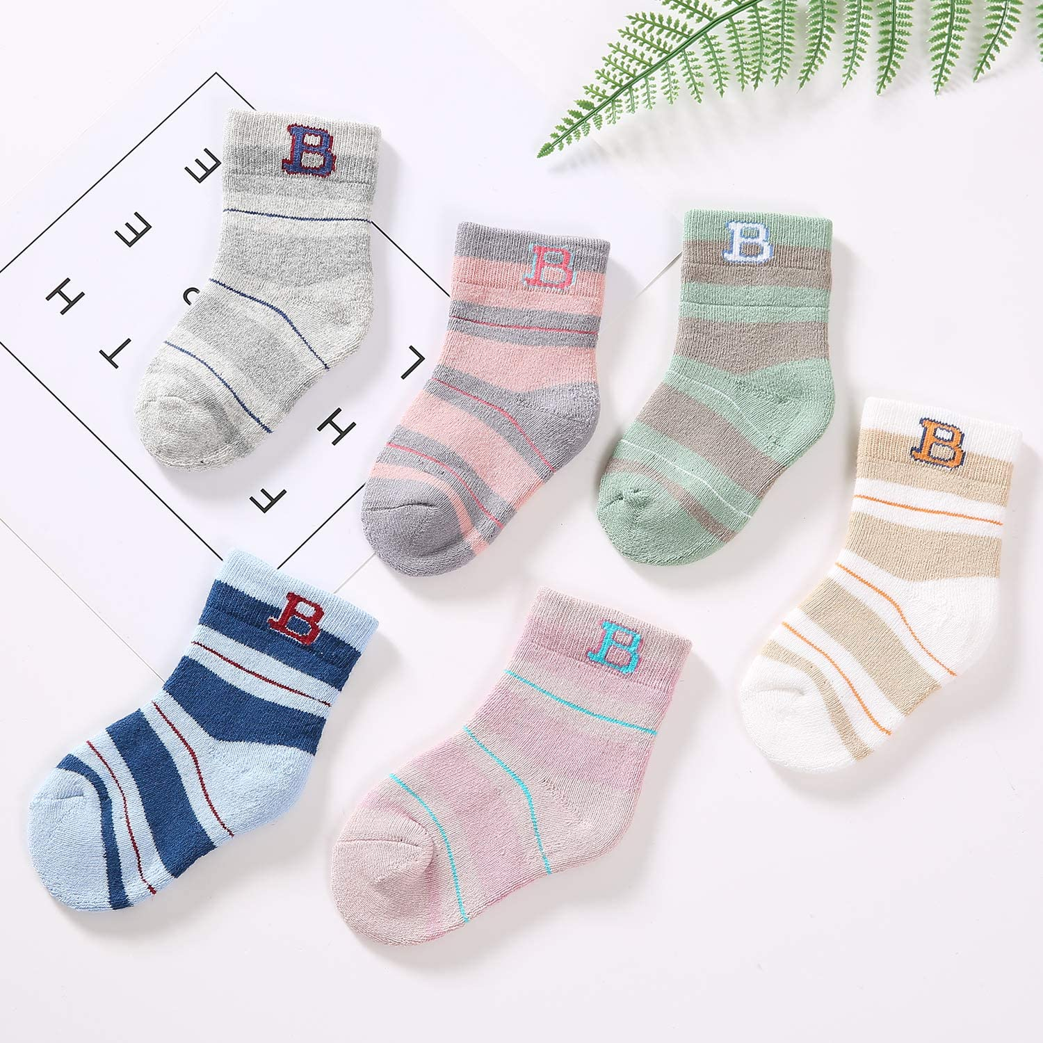 CHINE HIGH Varity Of Baby Socks 5//12 Pairs Colorful Cartoon Comfortable Cotton Kids Socks