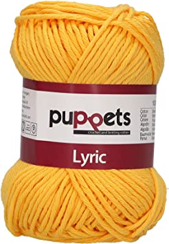 Puppets Hilo para ganchillo, algodón, 05024 Orange, naranja: Amazon.es: Hogar