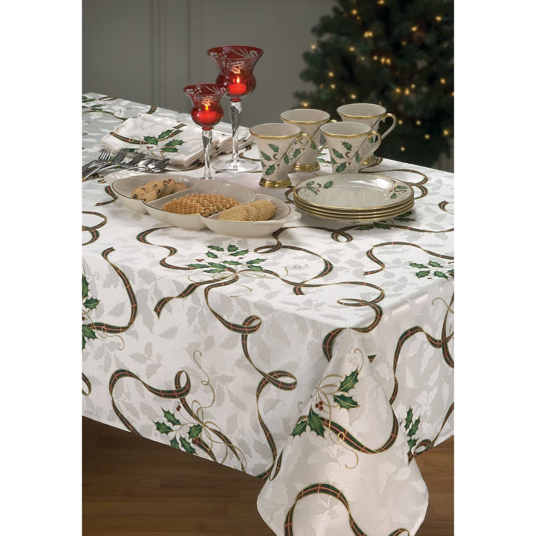 Amazon.com: Lenox Holiday Nouveau Ribbon Oblong / Rectangle ...