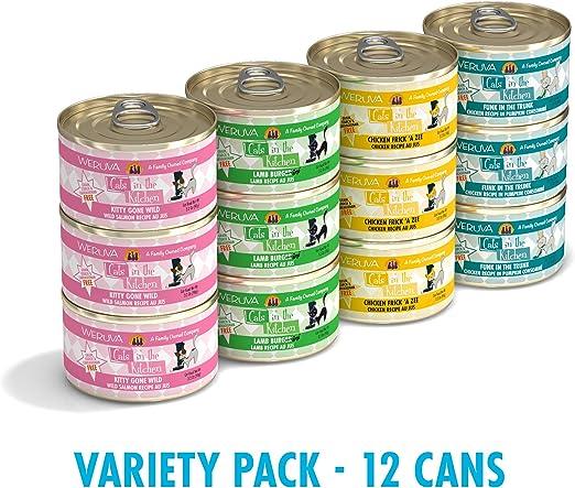Weruva Gatos en la Cocina sin Grano húmedo Cat latas de Alimentos ...