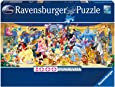 Ravensburger Disney Characters Panoramic 1000pc,Adult Puzzles