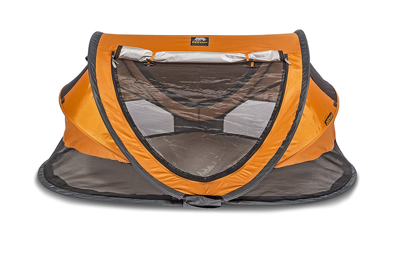 Deryan Travel Cot Peuter Luxe Orange Travel Cot Peuter Luxe Orange orange