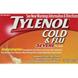 Tylenol Cold & Flu Severe for Adults 3x 24 Caplets