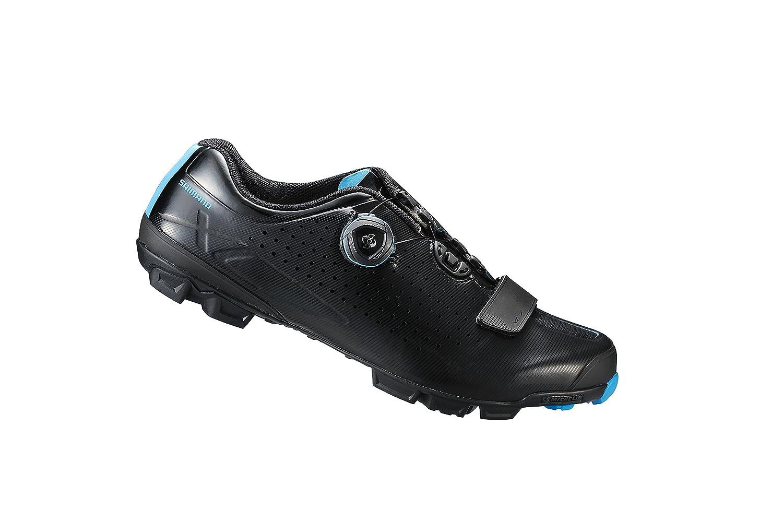 SHIMANO 2018 Mens XC Racing Mountain Bike Shoes Black - 44 SH-XC7