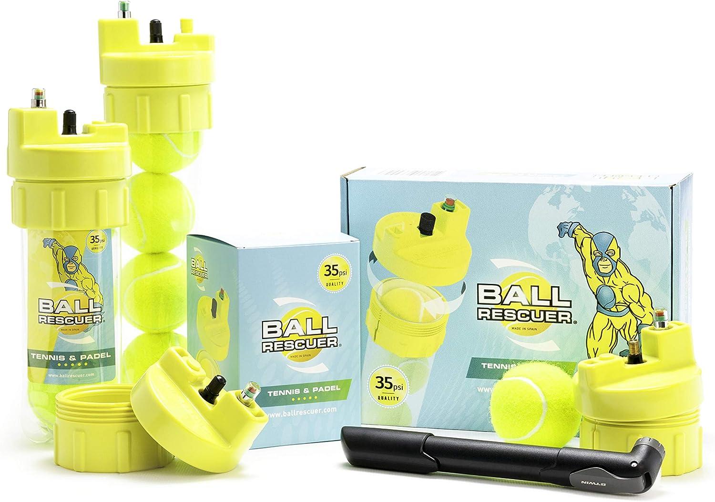 Ball Rescuer – Convierte envases de pelotas de pádel o tenis en un ...