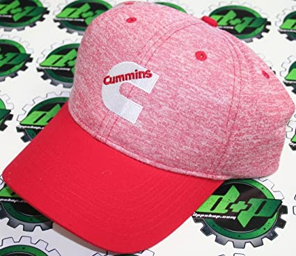 bca7886d Amazon.com: odge Cummins Diesel Trucker red White hat Ball Cap Cummings  Peterbilt Kenworth Apparel kw: Automotive