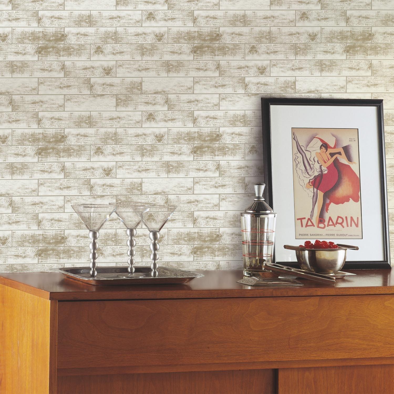 Vinilo Decorativo Pared [7CB8P73H] madera envejecida