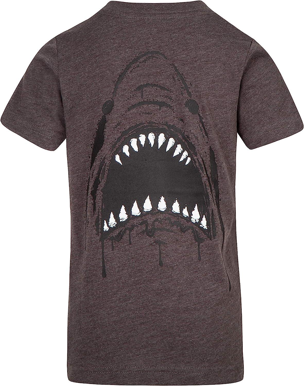 New Hurley short sleeve T shirt boys black shark teeth or gray 2T or 3T or 4T