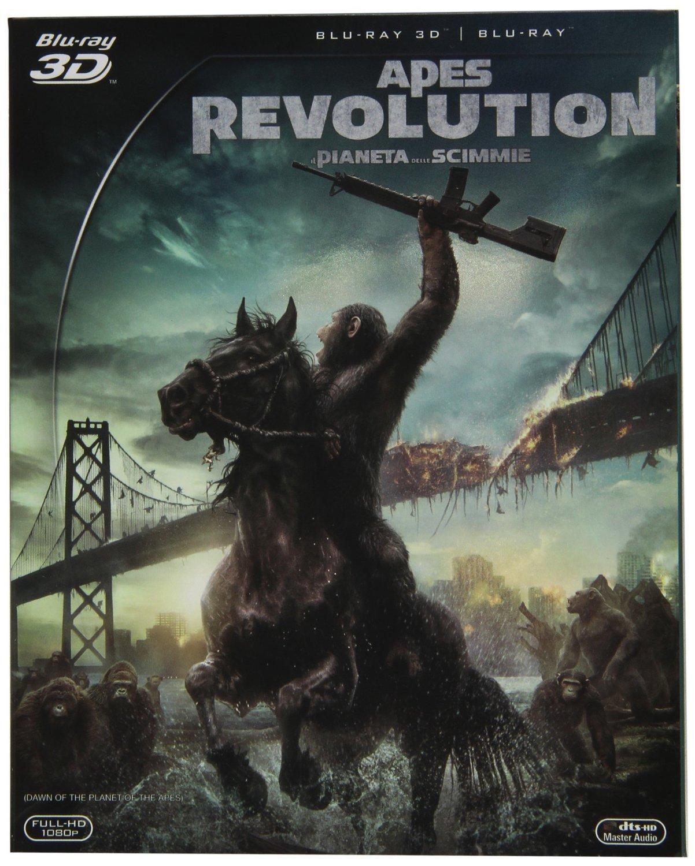 Amazon.com: Apes revolution - Il pianeta delle scimmie (2D+3D ...