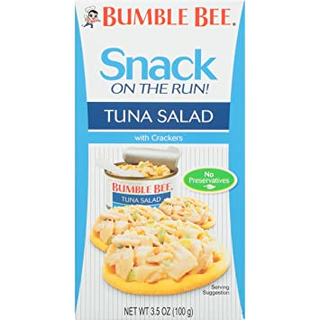 Amazon bumble bee snack on the run tuna salad with crackers tuna salad with crackers kit 35 ounce solutioingenieria Choice Image