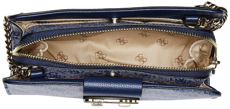 99d11b8a Guess - Cruzado de lujo con logotipo para novia Mujer, Azul (Azul), Talla  única: Amazon.es: Ropa y accesorios