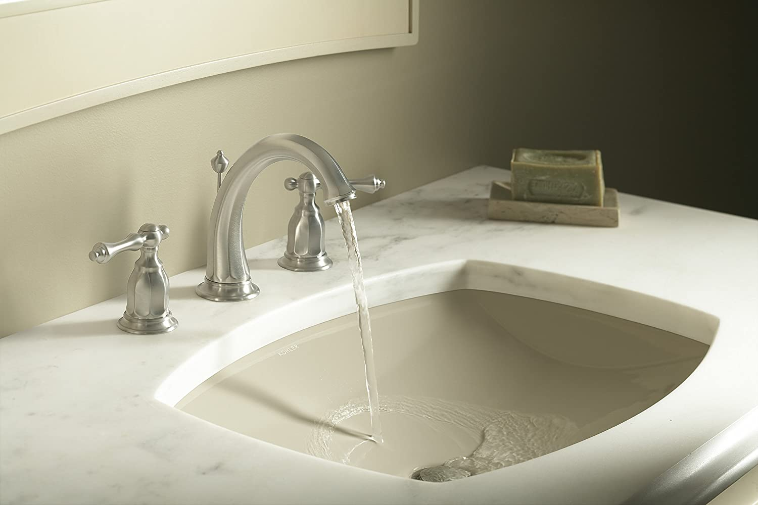 KOHLER K-2382-0 Kelston Undercounter Bathroom Sink, White - Under ...