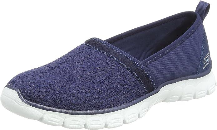 Skechers EZ Flex 3 Quick Escapade Sneakers Slip On Damen Marineblau