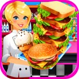 School Lunch Cafeteria Food - Kids Cooking Games FREE