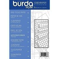 burda style Seidenpapier mit cm-Raster