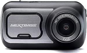 "Nextbase 422GW Dash Cam 2.5"" HD 1440p Touch Screen Car Dashboard Camera, Amazon Alexa, WiFi, GPS, Emergency SOS, Wireless, Black"