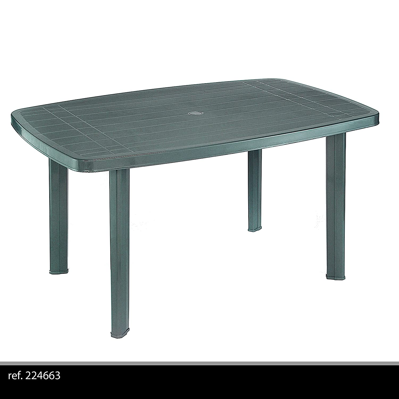 Fun Star Faro Plastic Table 90 x 140 cm Green 661838