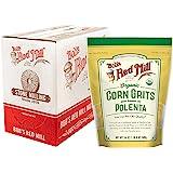Organic Corn Grits / Polenta, 24 Ounce (Pack of 4)