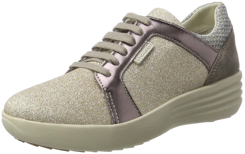 Stonefly Romy 12, Zapatillas para Mujer 37 EU|Marrón (Bronze 507)