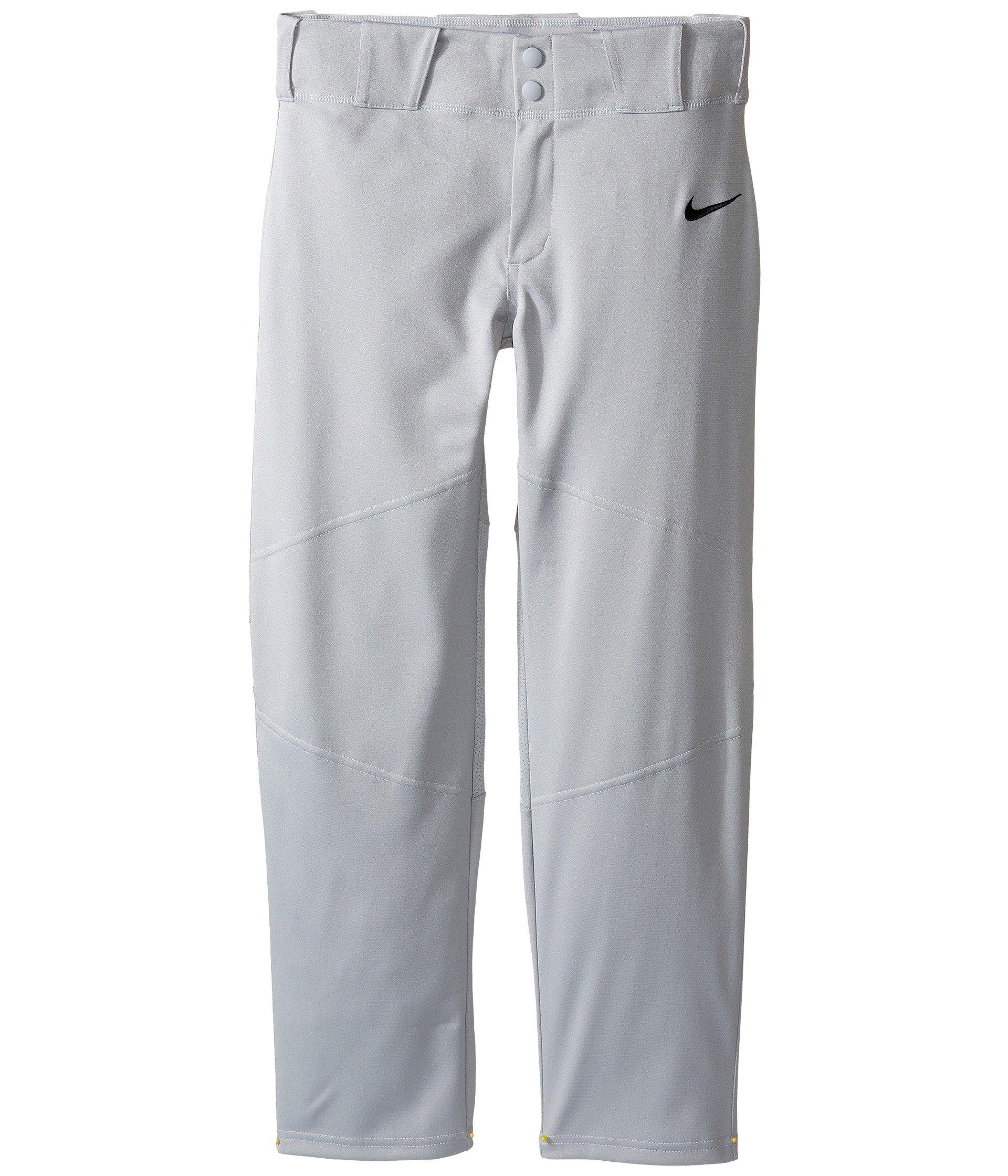 Nike Boys' Pro Vapor Baseball Pants, (Grey, M) by Nike
