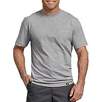 Dickies Unisex-Adult WS480 Short Sleeve Heavweight Crew Neck Short Sleeve Work Utility T-Shirt - Gray