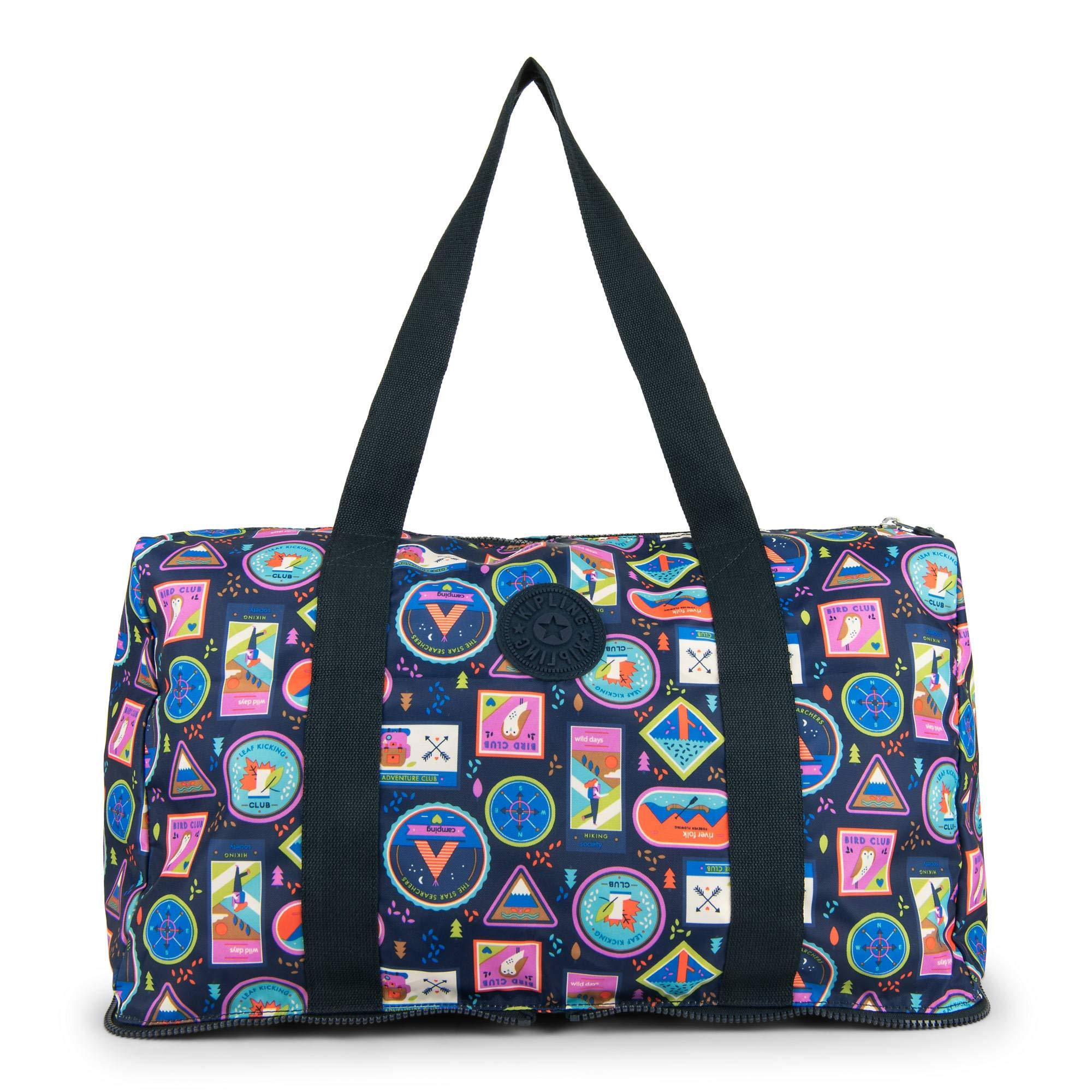Kipling Honest Foldable Duffel Essential Travel Bag, Wandering Road
