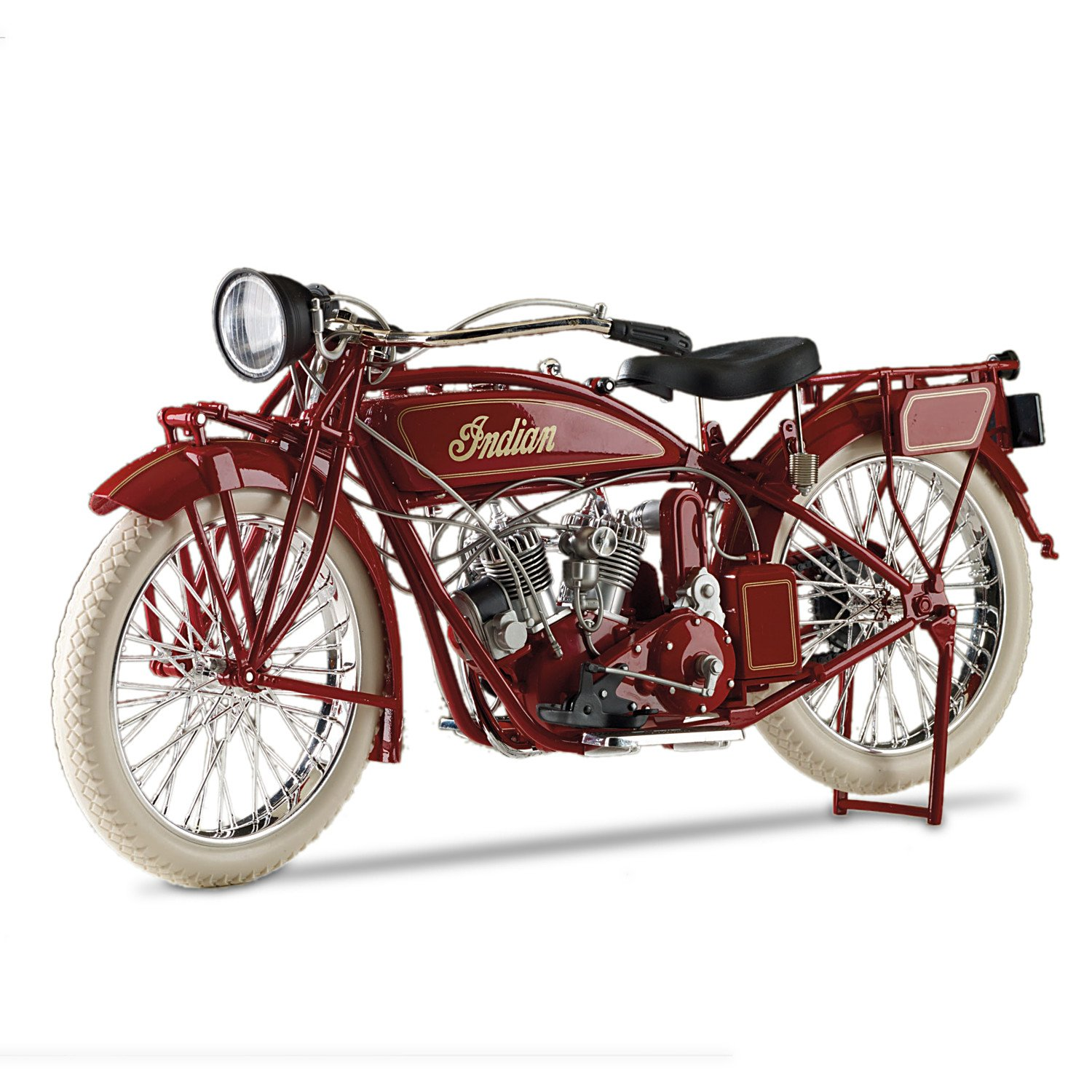 Indian Motorcycle 1:6-Scale Precision-Engineered Diecast 1920 Scout Motorcycle by The Hamilton Collection by Hamilton