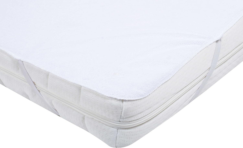 PMP PVC Mattress Protector Shape Tray 70/x 140/cm White