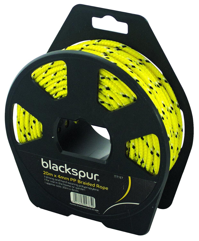Blackspur BB-TT117 Corde tress/ée en polypropyl/ène 30 m